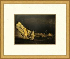 "Salvador Dali ""Anthropomorphic Bread"" Custom Framed Print FREE SHIPPING"