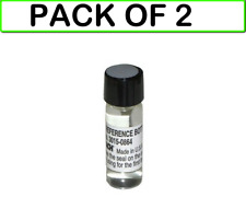 2 Pack Bacharach 3015 0864 H10pm H10g Leak Reference Bottle Authorized Dist