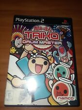 Taiko Drum Master PlayStation 2 PS2 Complete CIB box manual