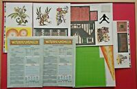 Warhammer 40K 4th Edition 1992 Board Game Cards Sheets Original Boards Only