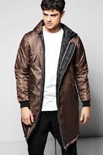 Cappotti e giacche da uomo stile parka lungo con cappuccio