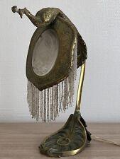 RARE Superbe authentique LAMPE en BRONZE ART NOUVEAU Jugendstil Guimard Gallé ?