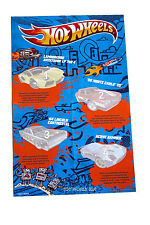 2012 Hot Wheels Super Speeders Collection Miniposter Set of 3