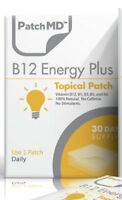 PatchMD B12 Energy Plus Topical Patch 1000 mcg Vitamin 30 Patch-MD healthy.you