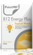 PatchMD B12 Energy Plus Topical Patch 1000 mcg 30 Day AUTHENTIC, BEWARE OF FAKES
