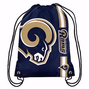 NFL Los Angeles Rams Drawstring Backpack