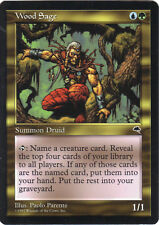 Wood Sage MTG Magic The Gathering -- Tempest