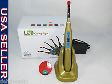 Dental New Wireless LED Curing Light Cure Lamp Champagne FORZA4 Fast USA SELLER