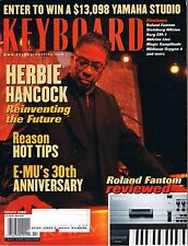 2002 KEYBOARD Magazine Reviews Roland Fathom, Herbie Hancock, E-MU's 30th Ann'y