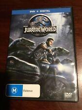 JURASSIC WORLD Chris Pratt Like New DVD R2,4&5  PAL