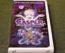 Casper: A Spirited Beginning (1997, VHS) VIDEO TAPE IN CLAM SHELL CASE
