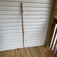 Vine  Twisted Wooden Walking Stick Rustic