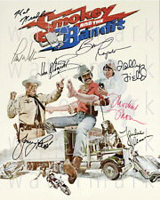 Smokey and the Bandit signed Reynolds 8x10 photo picture poster autograph RP