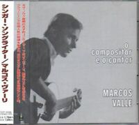 Marcos Valle ‎O Compositor E O Cantor JAPAN CD with OBI TOCP-50288