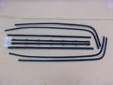 NEW 1966 Dodge Charger Window Sweep Belt Weatherstrip Catwhisker Set
