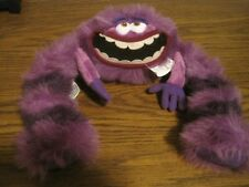 DISNEY COLLECTIONS MONSTERS UNIVERSITY PURPLE MONSTER!   TAGS ON
