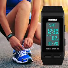 SKMEI Men Women Multi-function Sports Watches Waterproof Digital Pedometer Watch