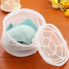 Foldable Delicate Lingerie Bra Underwear Clothes Wash Washing Laundry Mesh Bag