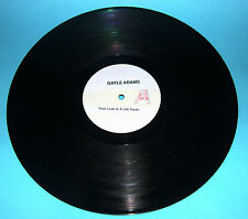 """Gayle Adams -Your Love Is A Life Saver b/w For The Love Of My Man 12"""" Promo 1980"""