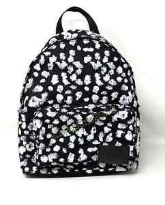 Calvin Klein SCULPTED Print Women's  BACKPACK Roses White Black 3609 2304 155