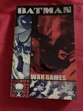 Batman War Games Act Two!!! Graphic Novel Trade Paperback Dc Comics