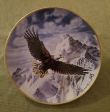"""Franklin Mint Heirloom Recommendation """"On Freedom's Wing"""" Collectors Plate"""