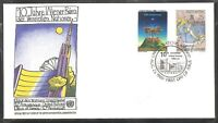 United Nations NY SC # 552-553 10th Anniversary Of UN Office In Vienna  FDC.UNPA