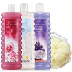 Avon Senses Bubble Bath - Set of 3 (24 oz bottles)
