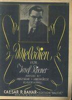 Melodien von Josef Rixner