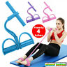 Resistance Stretch Band Pull Rope Latex Rubber Fitness Exercise Pilates Yoga Gym