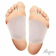 Arch Support Shoe Insert Foot Pads for Plantar Fasciitis & Flat Feet Soft Gel