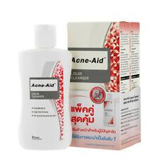 ( Pack of 2 ) Acne Aid Liquid Cleanser  for Pimples and Oily Skin  100 ml