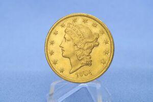 USA 20 $ 1903 Liberty  Double Eagle 33,4 g Gold 0.900 * Vz *