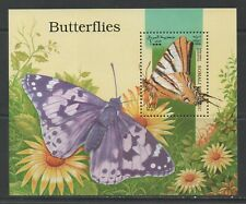 Thematic Stamps Animals - SOMALI REP 1998 BUTTERFLYS MS mint