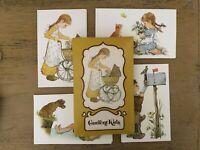 Vintage L K Powell Current Kids Stationery 12 Cards And Envelopes