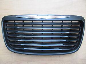 Fit For Chrysler 300 300C Black Grill 2011-2014 Modified Emblem Badge Trim