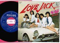 "GIRLS Love Jack /Flying Friday JAPAN 7"" RECORD THE RUNAWAYS w/PS FS-2097 Free SH"