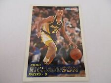 Carte NBA FLEER 1993-94 #87 Pooh Richardson Indiana Pacers
