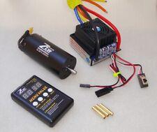 Combo 1/8 Brushless Motore 2050Kv + Regolatore 120A + Programmatore Card