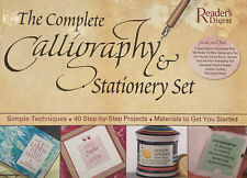 The Complete Calligraphy & Stationery Set with Book(s) and Other and Pens/Pencil