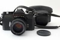 Excellent Asahi Pentax SPOTMATIC SP Black 35mm SLR Film Camera w/ 55mm Lens