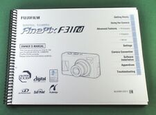 Fujifilm FinePix F31FD Owner's Manual: 180 Pages & Protective Covers!