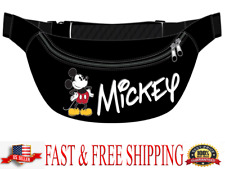 Disney Belly Bag Mickey Mouse Waist Pack Standing Original