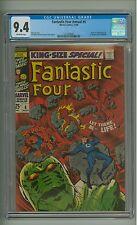 Fantastic Four Annual #6 (CGC 9.4) O/W p; Franklin Richards; Annihilus (c#10285)