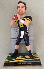 """Aaron Rodgers California Bears Varsity Collection 10"""" Bobblehead Packers /214"""