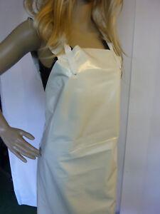 RETRO Damen PVC Schürze 80x100  keine Gummischürze Nagelneu apron tablier
