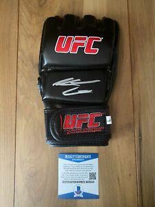 Nate Diaz Signed UFC Glove COA Beckett #BA09243 Autographed