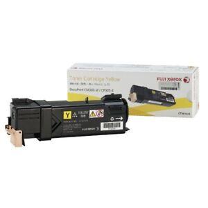 Fujitsu Xerox CT201634 Toner Cartridge Yellow   Genuine & Brand New