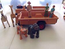 Vintage 1975 Fisher Price Adventure People Wild Animal Safari  Set #304