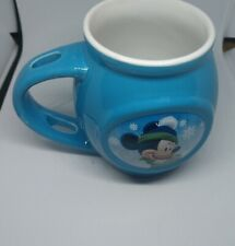 New listing Disney Blue Winter Mickey Mouse coffee/tea/hot cocoa Mug 2015